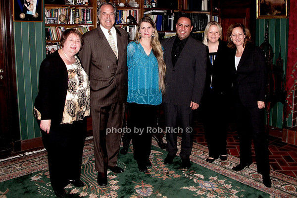Suzanne Toback, Stewart Lane, Bonnie Comley, Louie Anchondo, Kathleen O'Connor, Barbara Davis