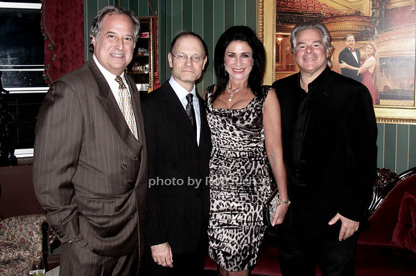 Stewart Lane, David Hyde Pierce, Donna Soloway and Dick Soloway