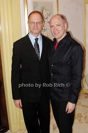 David Hyde Pierce and Charles Busch