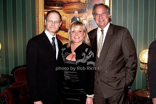 David Hyde Pierce, Wendy Federman and Stewart lane