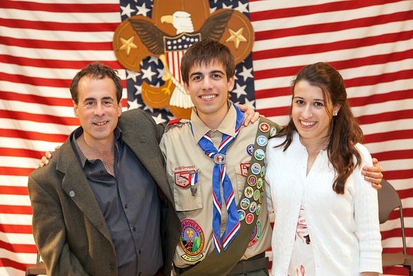 David and Almog Eagle Scout