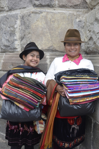 Street Sellers, Old Town Quito