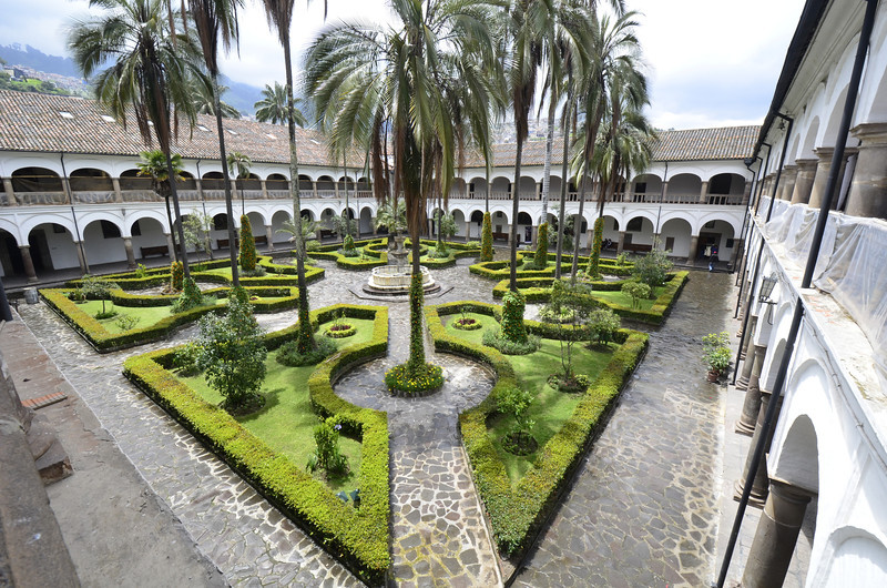 Convent Garden, Monestary of San Francisco, Quito