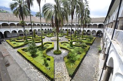 Convent Garden, Monestary of San Francisco, Quito