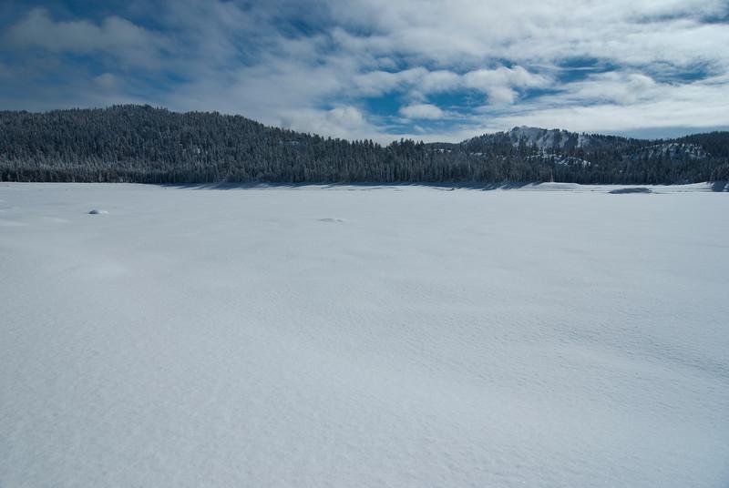 Looking towards 168 & Sierra Summit Ski Resort