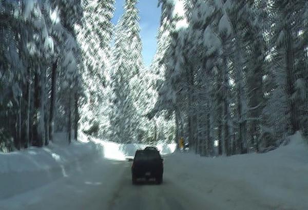 Moving into Shaver Lake.  Video by Ben Zastonvik.