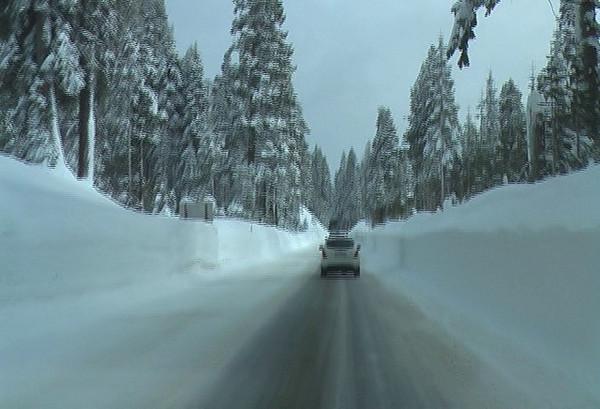 Going over Tamarack Ridge.  Video by Ben Zastonvik.