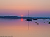 23 April 2011. Dawn scenes from Langstone/Hayling Island Bridge. Sunrise  Copyright Peter Drury 2011