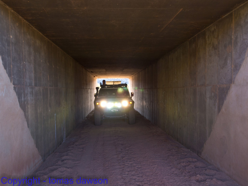 Crossing under I70