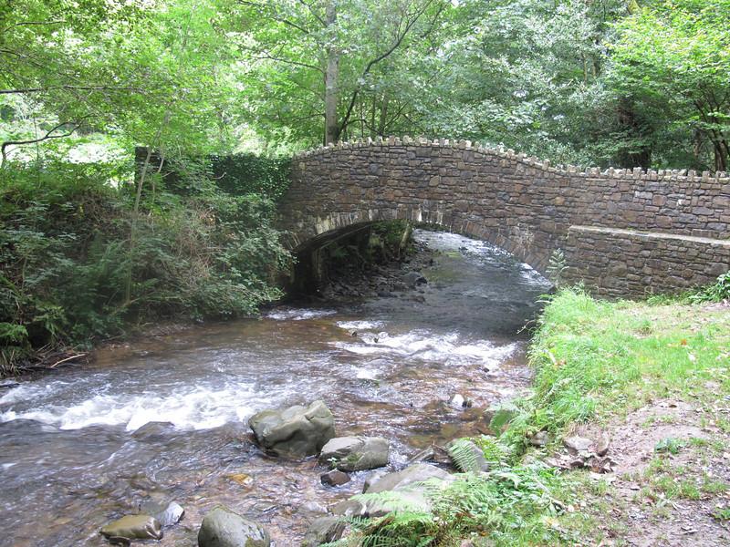 The bridge near Heddon's Mouth.