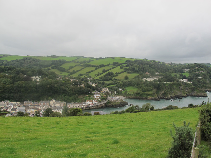 Combe Martin, the longest village in England.