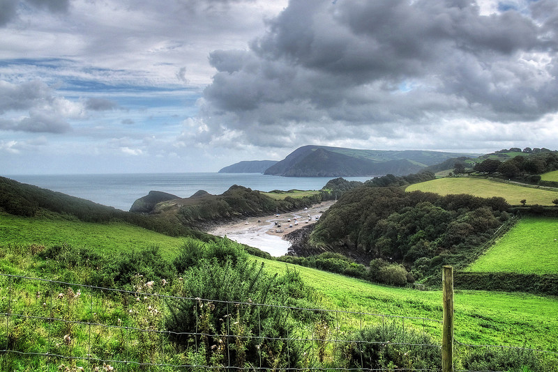 Looking back to Watermouth mouth!