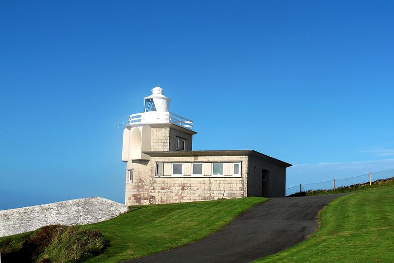 Bull Point lighthouse.