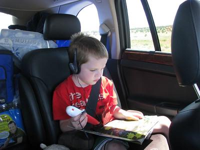 Reading his books