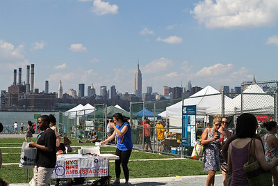"This Saturday we went to the ""Smorgasburg"" in Brooklyn"