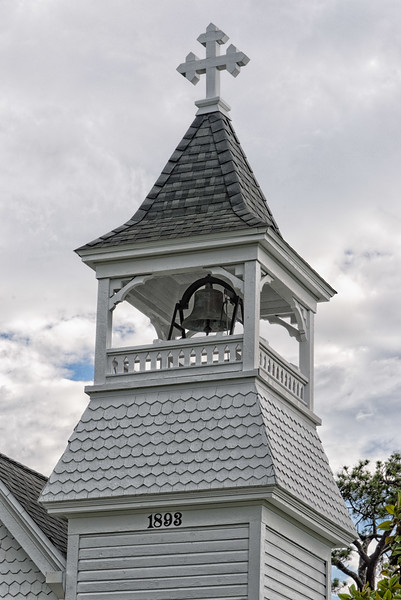 Steeple and Bell of Grace Episcopal