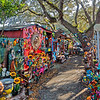Barberville Roadside Yard Art & Produce