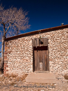 Overton Merchantile, south door-Yeso, New Mexico