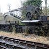 Crane ADW240 and Runner B708424  at Lydney, Dean Forest Railway  23/03/13.