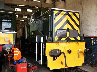 Class 14 D9521 seen at Barry Railway    28/05/07