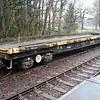 49t YGA Sleeper Flat DC967645 at Lydney, Dean Forest Railway  23/03/13.