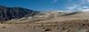 Eureka Dunes, tallest dunes in CA at 700'