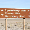 We drove over to the Eureka Mine and Harrisburg Site.