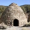 A last look at the charcoal kilns near wildrose peak.