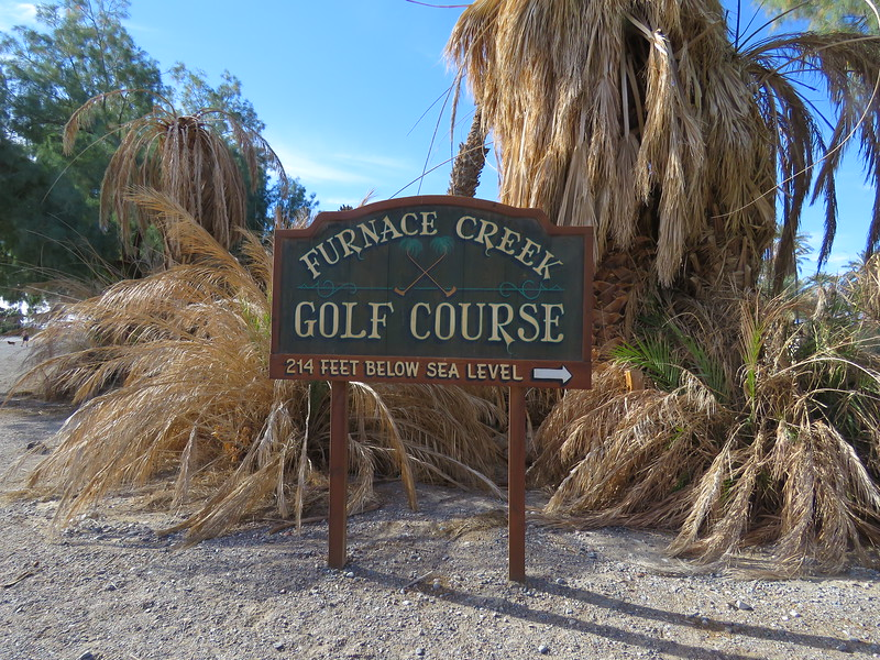 Play golf at the world's lowest elevation golf course.
