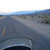chasing the sunset across the floor of Death Valley