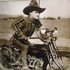 a real silver screen Iron Horse cowboy
