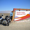 Death Valley entrance near Panamint Springs
