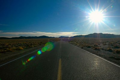 The long road to Death Valley.  I left before sunrise to make sure I arrived with enough time to actually do something