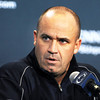 Penn State NCAA college football head coach Bill O'Brien speaks to the media during his weekly news conference inside Beaver Stadium, Tuesday, Sept. 11, 2012, in State College, Pa. (AP Photo/Centre Daily Times, Nabil K. Mark)