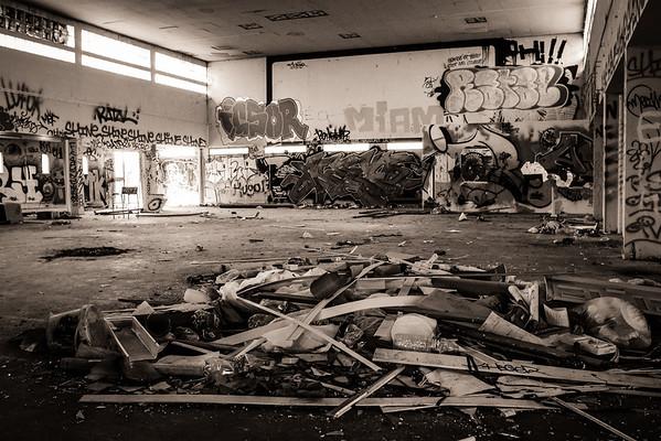 Visite d'un centre Hospitalier à l'abandon