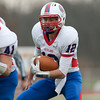 Jason Kapusta/Herald<br /> Richland's Matt Shaffer carries the ball near the the goal line in the first quarter of the game.