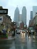 Toronto in the rain