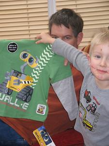 Wally the robot shirt