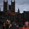 Lincoln Cathedral Christmas market