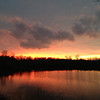 Sunset 12/16/12 over the pond off Rangeline Road.<br /> <br /> Photographer's Name: Lois Rockhill<br /> Photographer's City and State: Anderson, Ind.