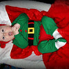 Mason, our little Christmas Elf.  Son of Chris and Julie Vandergrift  Grandson of Patti Safford, Anderson, Ind.<br /> <br /> Photographer's Name: Patti Safford<br /> Photographer's City and State: Anderson, Ind.