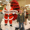 Kylan Adams at the Anderson Mounds Mall enjoying the Christmas decorations.<br /> <br /> Photographer's Name: Diana Adams<br /> Photographer's City and State: Frankton, IN