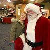 Kylan Adams of Pendleton meets Santa Claus at the Anderson Mounds Mall<br /> <br /> Photographer's Name: Diana Adams<br /> Photographer's City and State: Frankton, IN