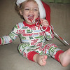 Miles Doyle, 1, of Anderson, enjoys his crazy holiday straw and Santa hat. He's been mostly good this year Santa, promise!<br /> <br /> Photographer's Name: Abbey Doyle<br /> Photographer's City and State: Anderson, Ind.