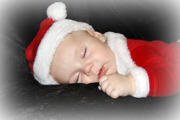 'Twas the night before Christmas, when all through the house, not a creature was stirring, not even our sweet little Mason.<br /> <br /> Photographer's Name: Patti Safford<br /> Photographer's City and State: Anderson, Ind.