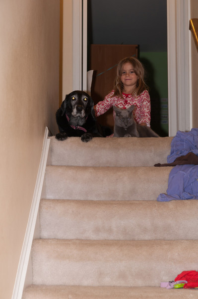 Charlotte, Maggie and Willy.