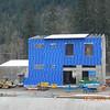 Mechanical dewatering building