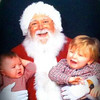 My grandsons, Trenton and Braxton Brown. Truly classic Santa photo and extra special as these two little ones just got home from P.M. Children's Hospital in time for Christmas!<br /> <br /> Photographer's Name: Colleen Sanders Brown<br /> Photographer's City and State: Anderson, Ind.