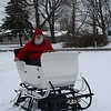 Christmas Eve is almost here and Santa just fixed up his 1898 Lull sleigh.<br /> <br /> Photographer's Name: Bill Wood<br /> Photographer's City and State: Anderson, Ind.