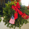 """Christmas Wreaths Across America Day,"" taken at  Loose Funeral Home, Dec. 14.<br /> <br /> Photographer's Name: J.R. Rosencrans<br /> Photographer's City and State: Alexandria, Ind."